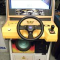 carecaverhuur huur retro race spel old school ARCADE SEGA CRAZY TAXI NEO LEGEND